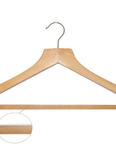 Hölzerner Kleiderbügel Basic mit Hosensteg