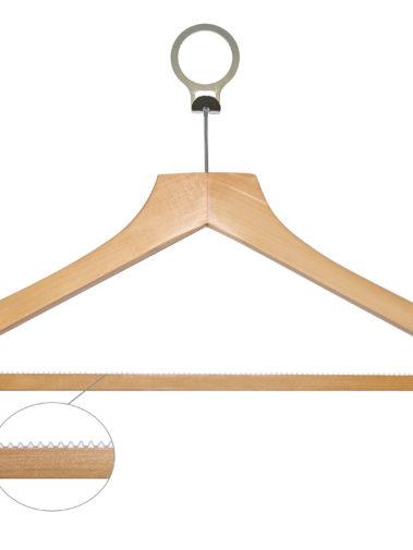 Holz Anti-Diebstahl-Kleiderbügel Grund